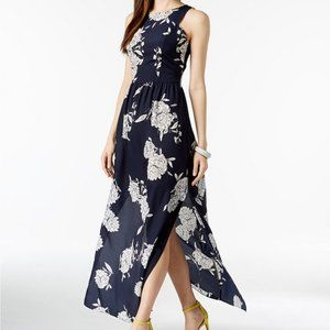 Vince Camuto Sleeveless Floral Maxi Dress NEW